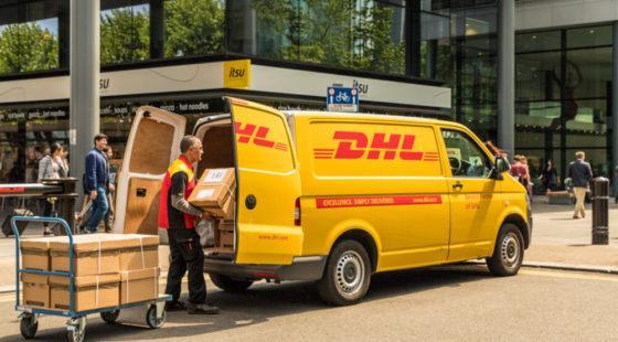 Serwis DHL Express jest dostępny